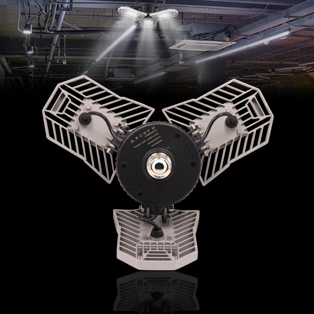 Patent LED Deformable Garage Light LED Bulb With Radar ...